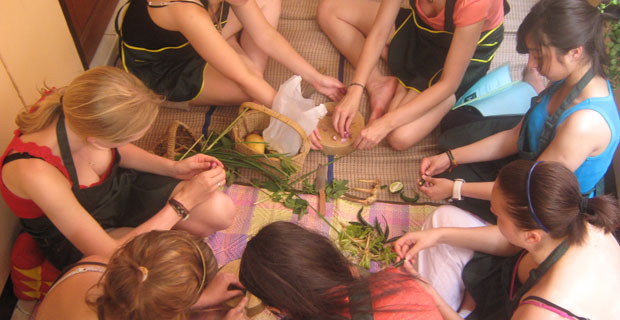 Hen-Party-Thai-Cooking-class